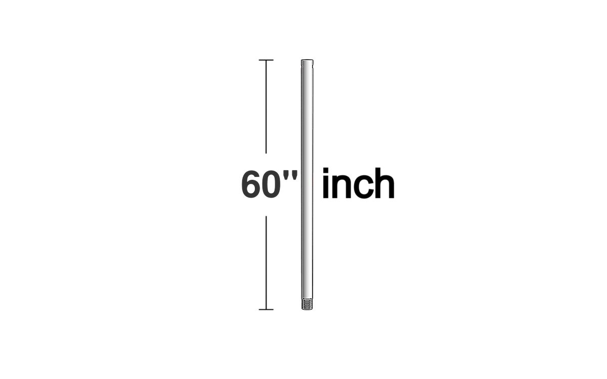 Downrod from the Downrod collection by Monte Carlo DR60PN