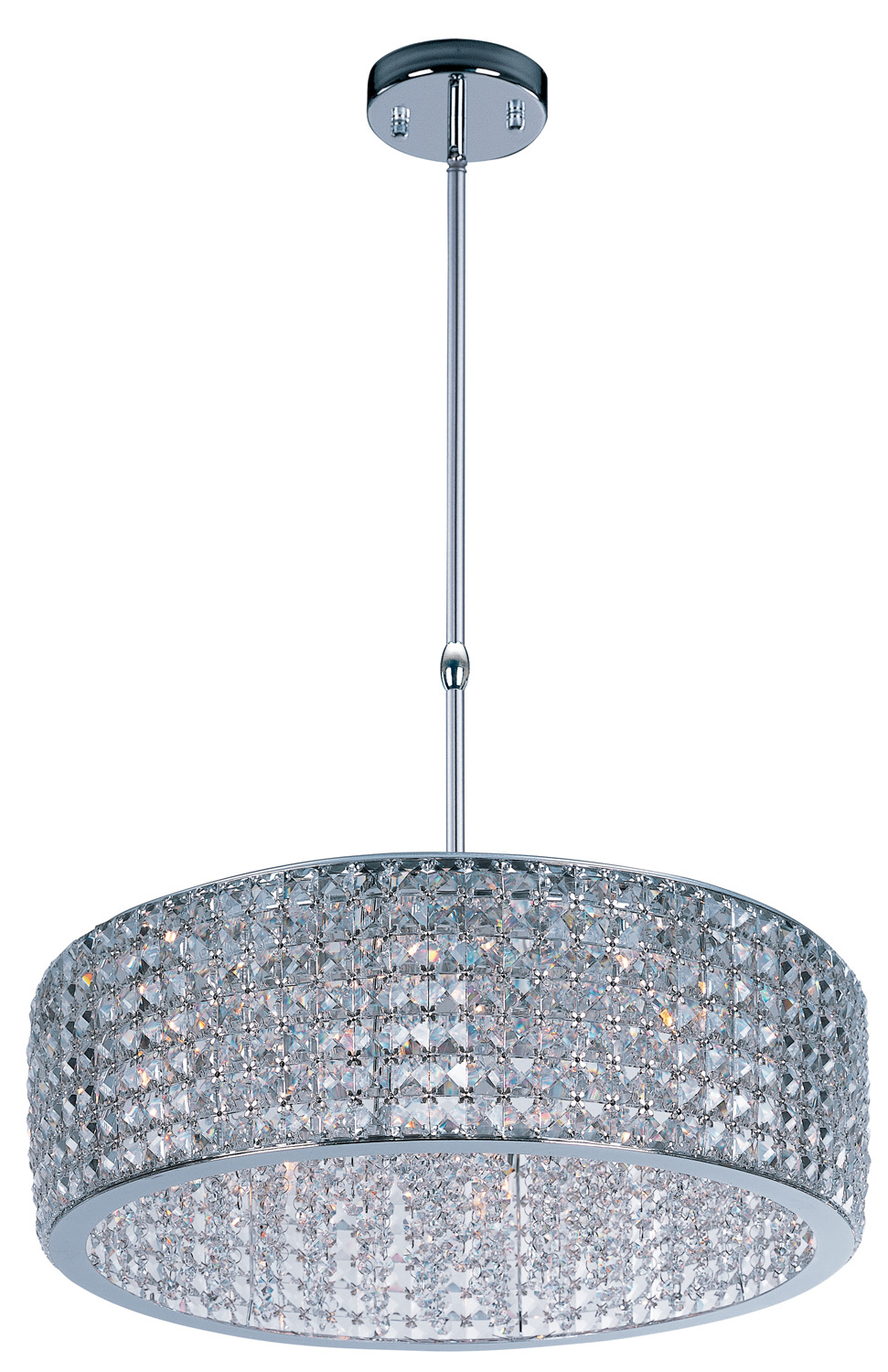 12 Light Pendant from the Vision collection by Maxim 39935BCPC