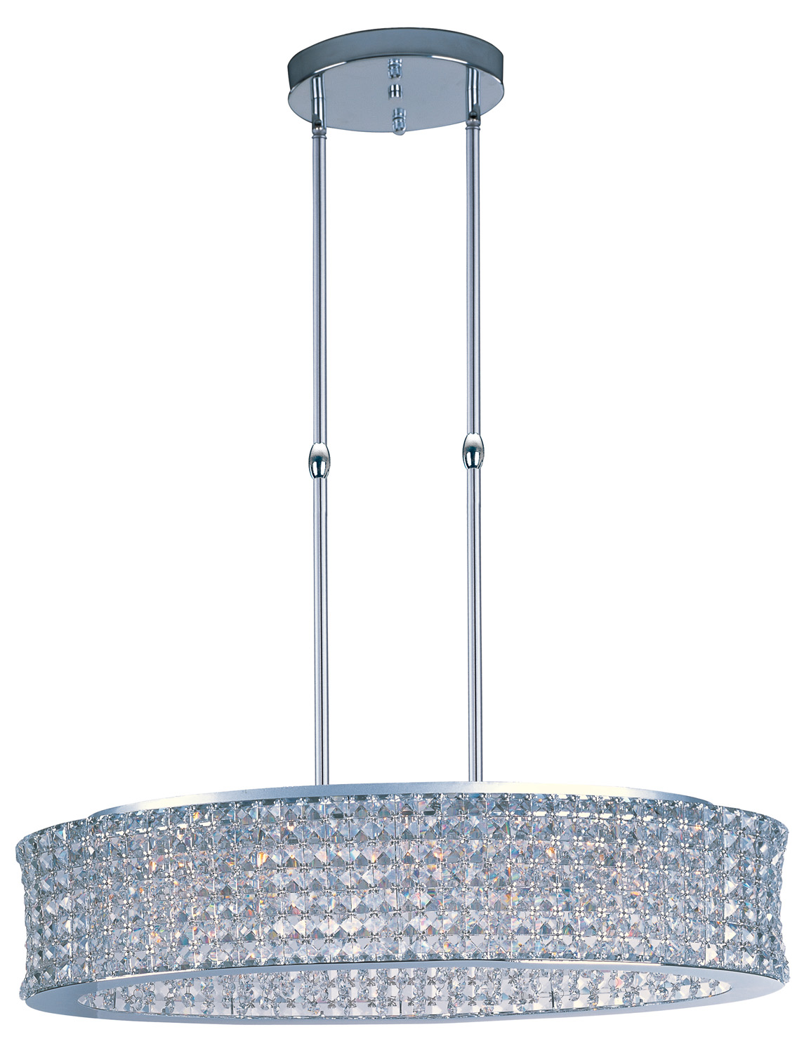15 Light Pendant from the Vision collection by Maxim 39936BCPC