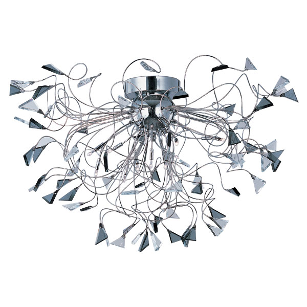 12 Light Flush Mount from the Calypso collection by ET2 E23261 138PC