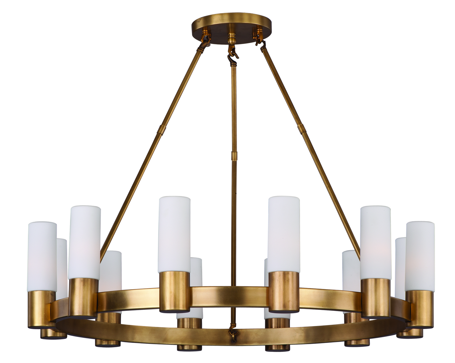 12 Light Chandelier from the Contessa collection by Maxim 22419SWNAB