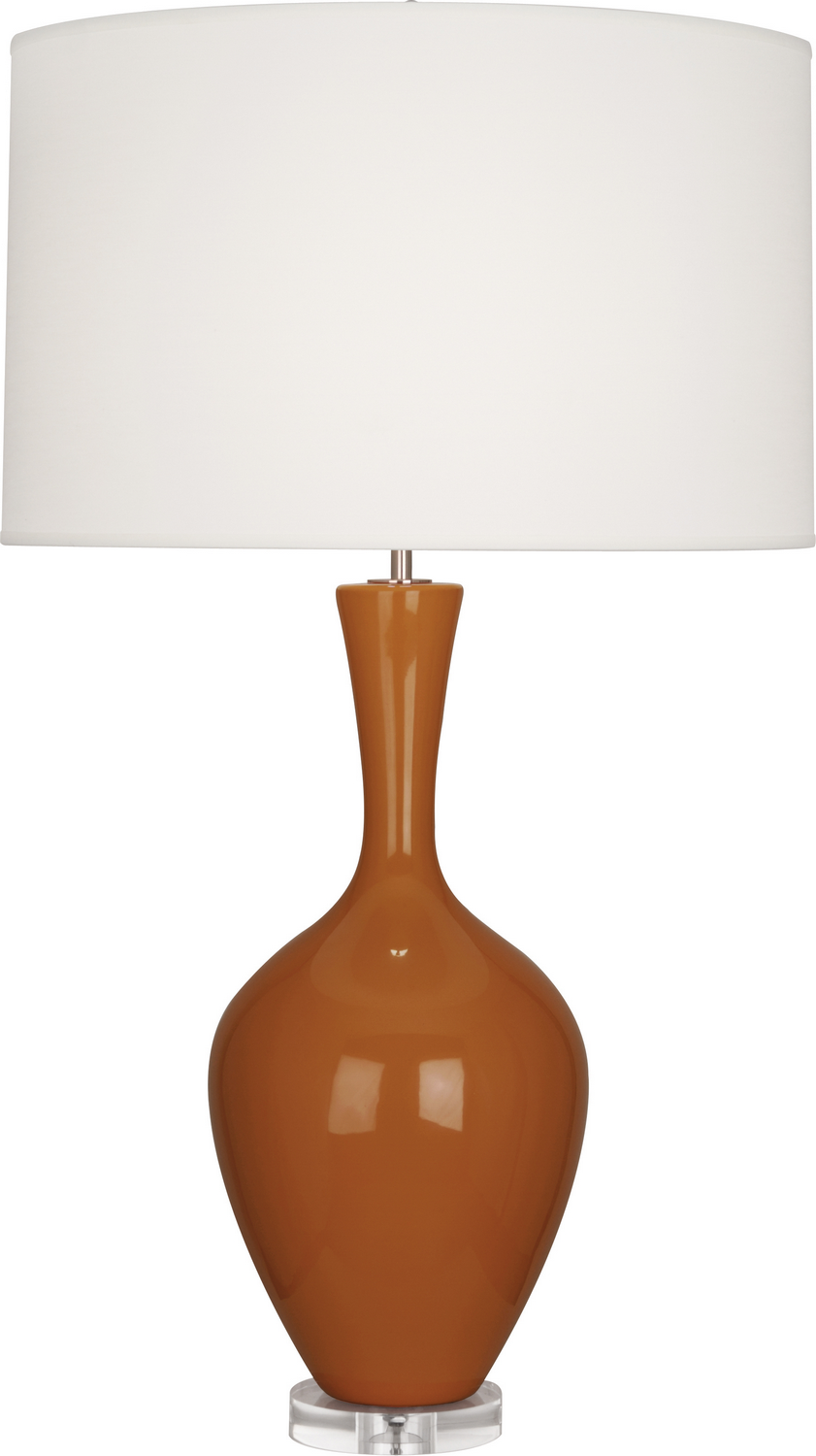 One Light Table Lamp From The Audrey Collection By Robert Abbey Cm980
