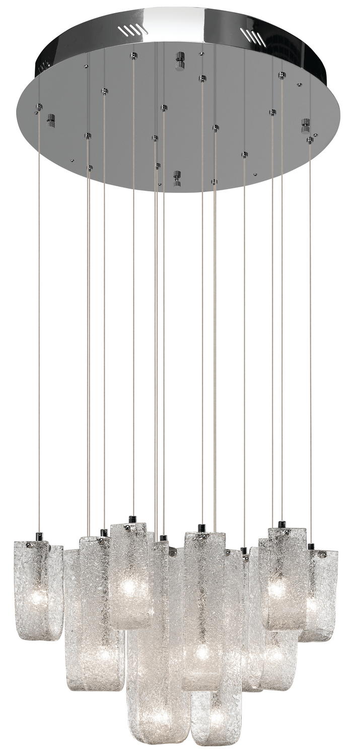 15 Light Pendant from the Zanne collection by Elan 83094