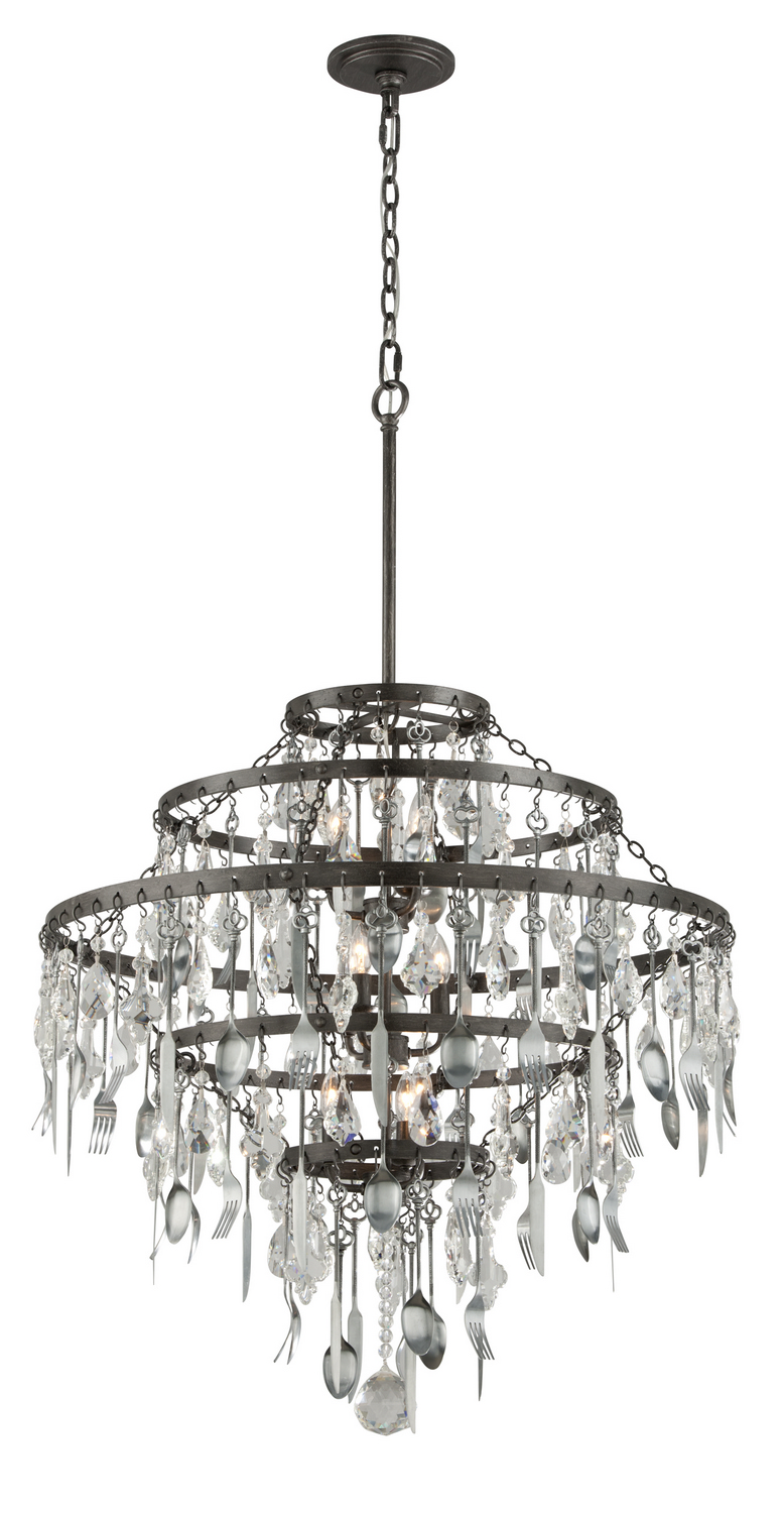 Nine Light Chandelier From The Bistro Collection By Troy Lighting F3809