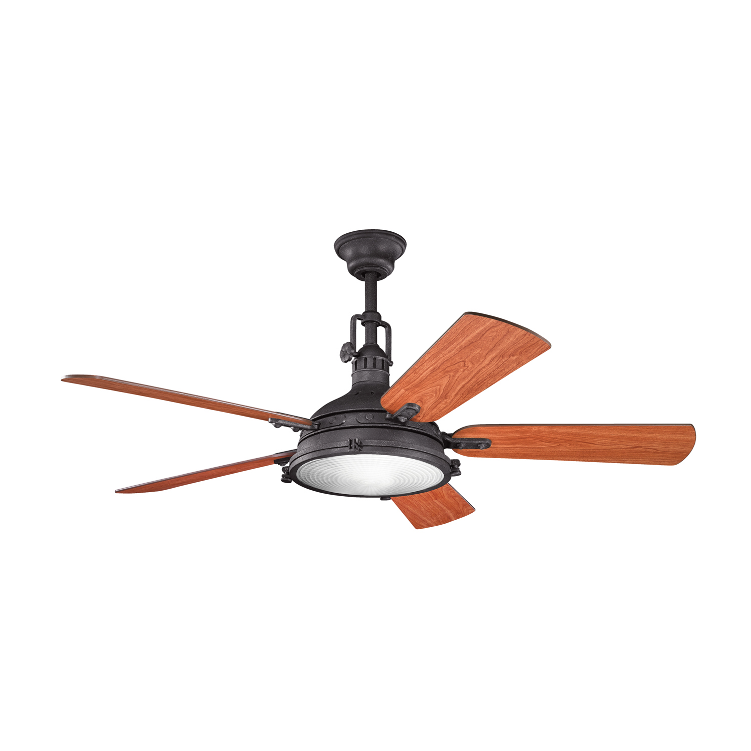 56 inchCeiling Fan from the Hatteras Bay collection by Kichler 300018DBK