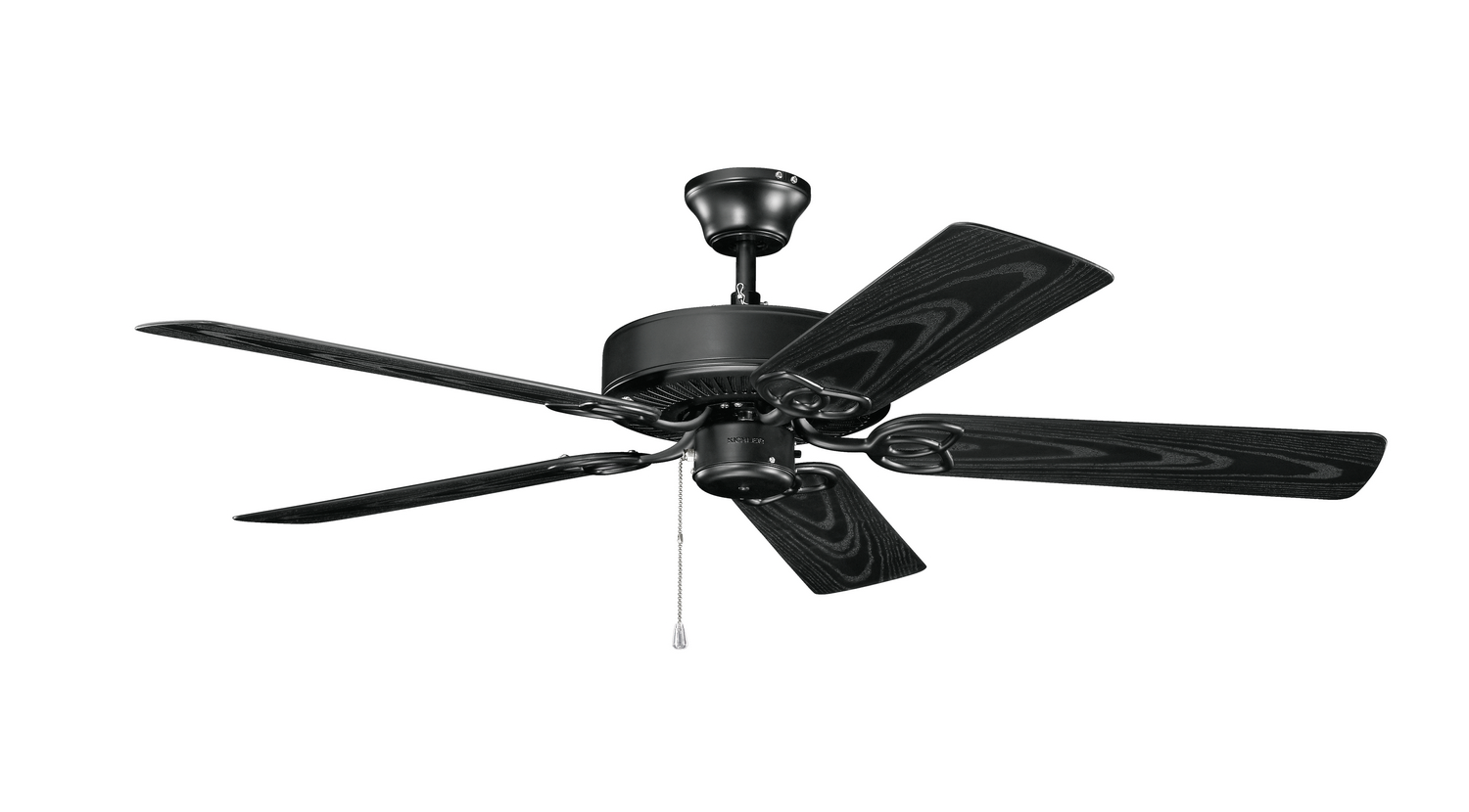 52 inchCeiling Fan from the Basics collection by Kichler 401SBK