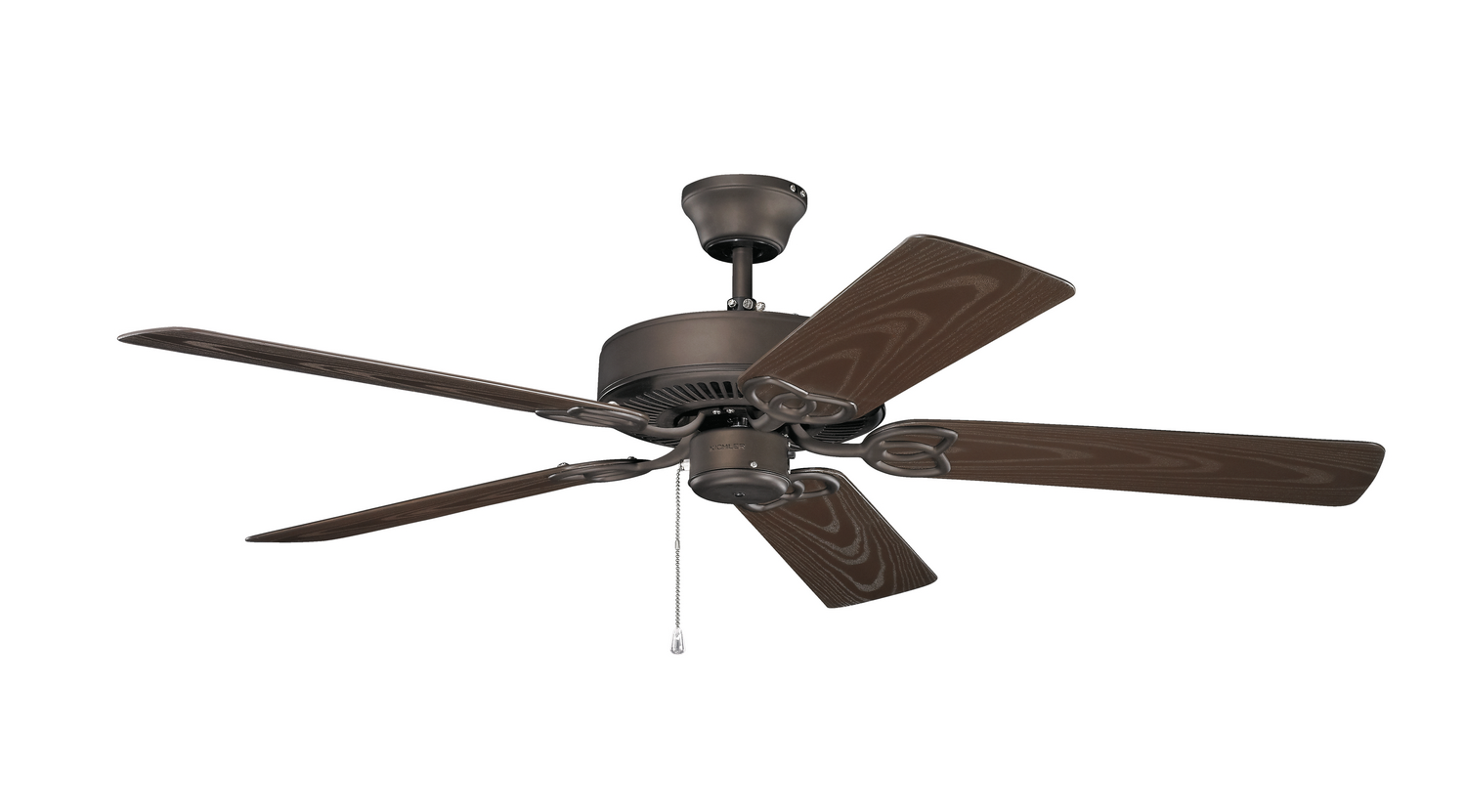 52 inchCeiling Fan from the Basics collection by Kichler 401SNB