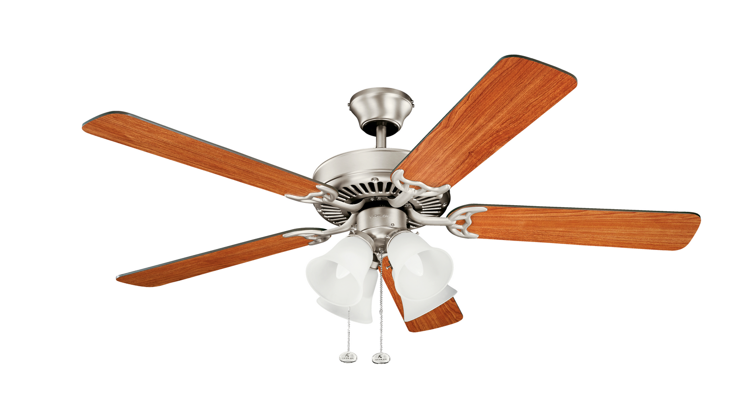 52 inchCeiling Fan from the Basics collection by Kichler 402NI7