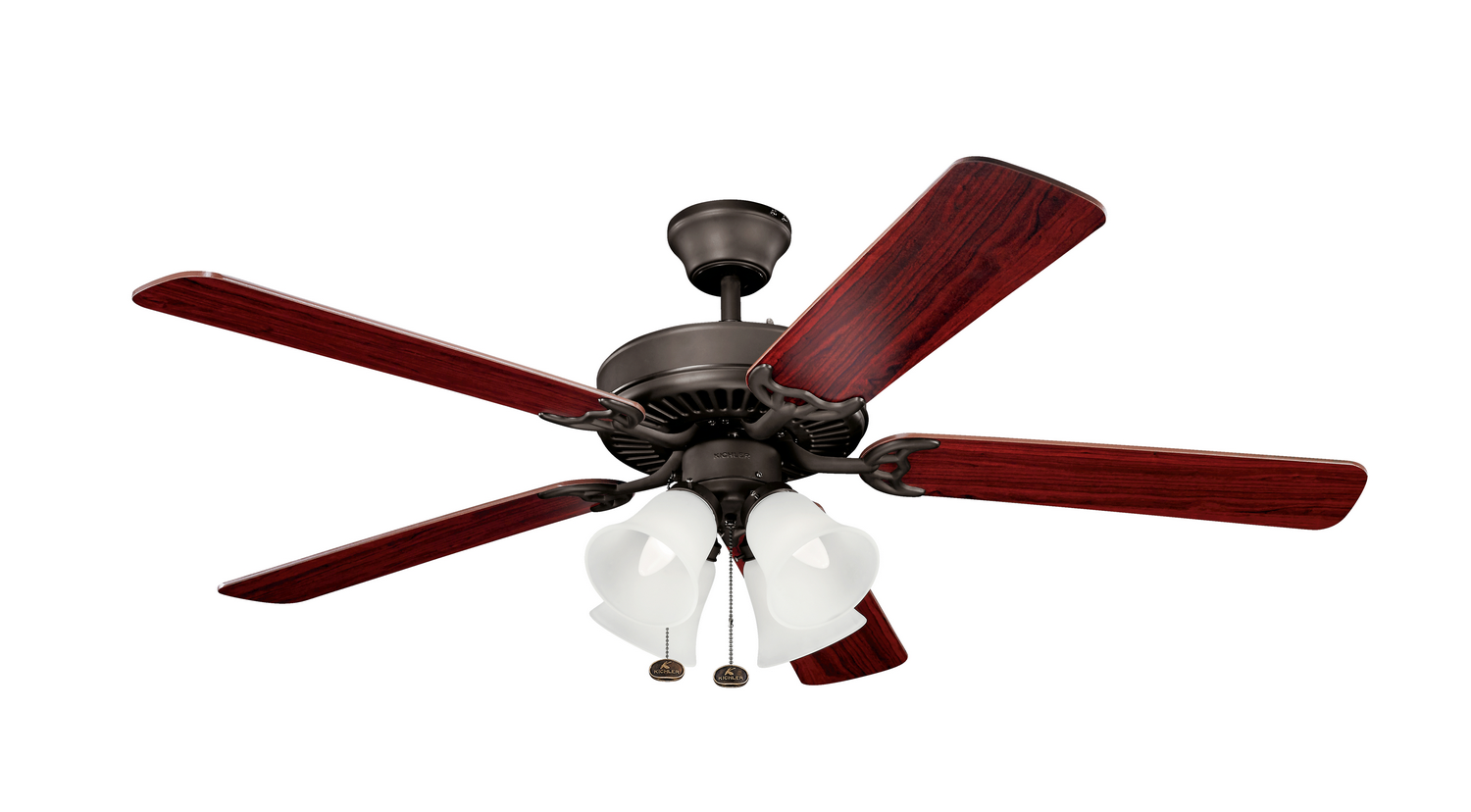 52 inchCeiling Fan from the Basics collection by Kichler 402SNB