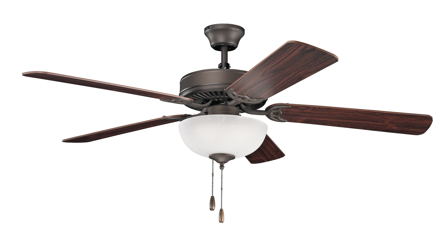 52 inchCeiling Fan from the Basics collection by Kichler 403SNB