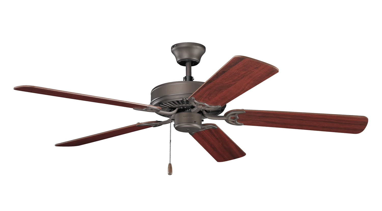 52 inchCeiling Fan from the Basics collection by Kichler 404SNB