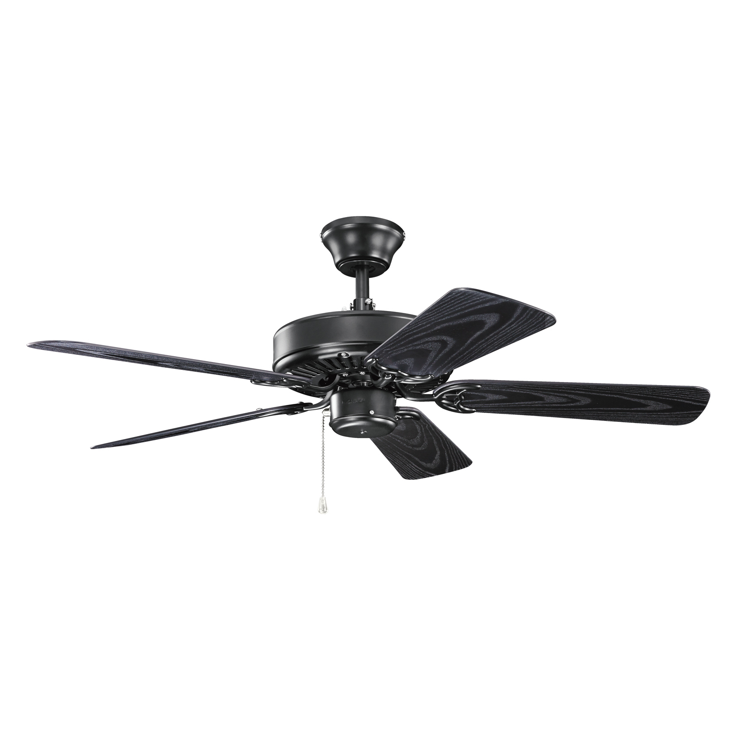42 inchCeiling Fan from the Basics collection by Kichler 414SBK