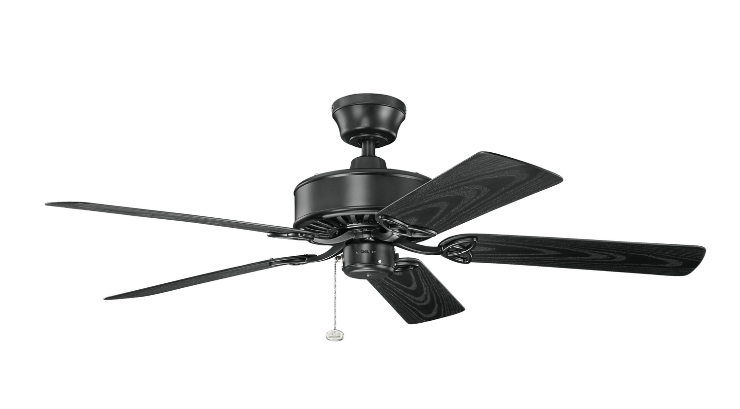 52 inchCeiling Fan from the Renew Patio collection by Kichler 339515SBK
