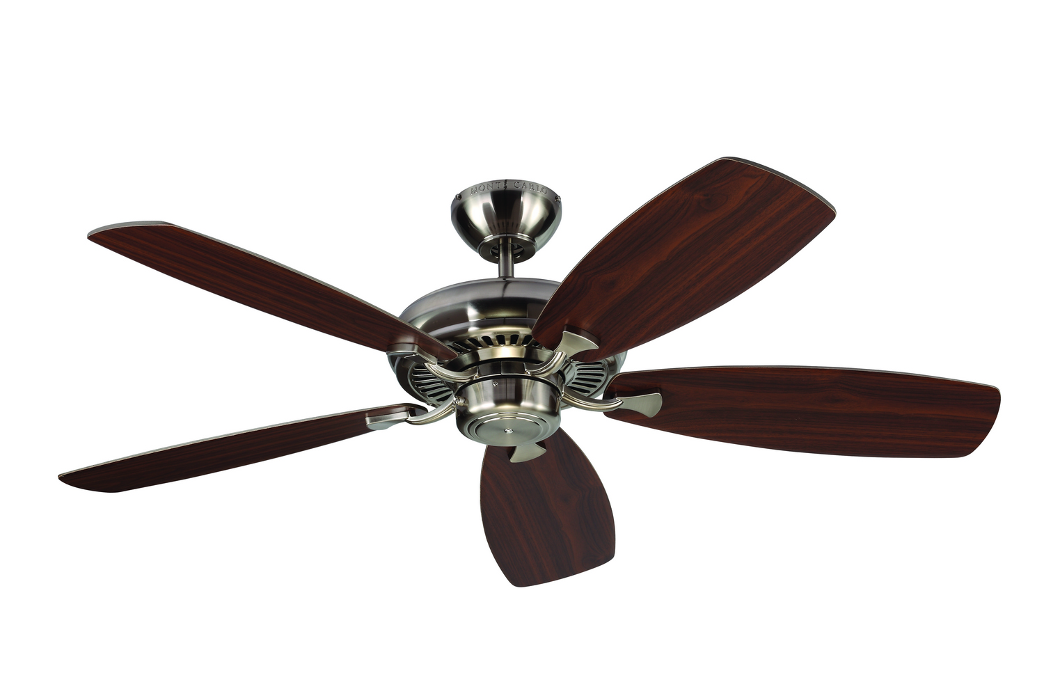 52 inchCeiling Fan from the Designer Max collection by Monte Carlo 5DM52BS