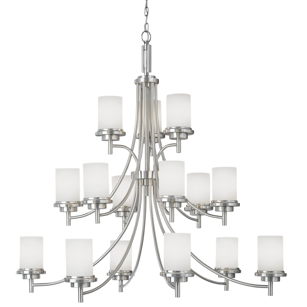 15 Light Chandelier from the Winnetka collection by Seagull 31663 962