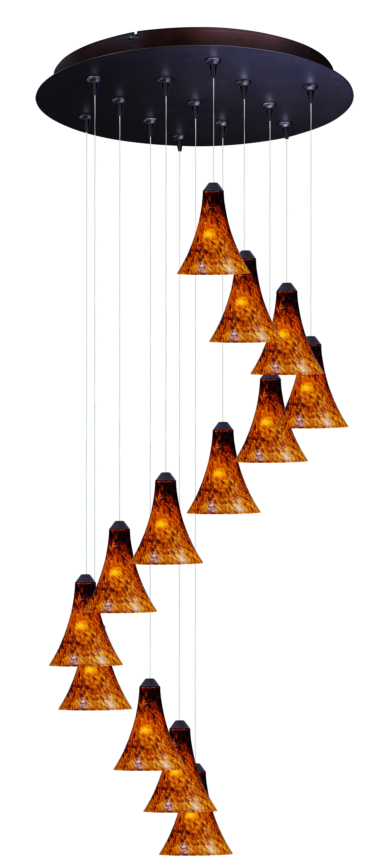 13 Light Pendant from the Leopard collection by ET2 E93833 104BZ