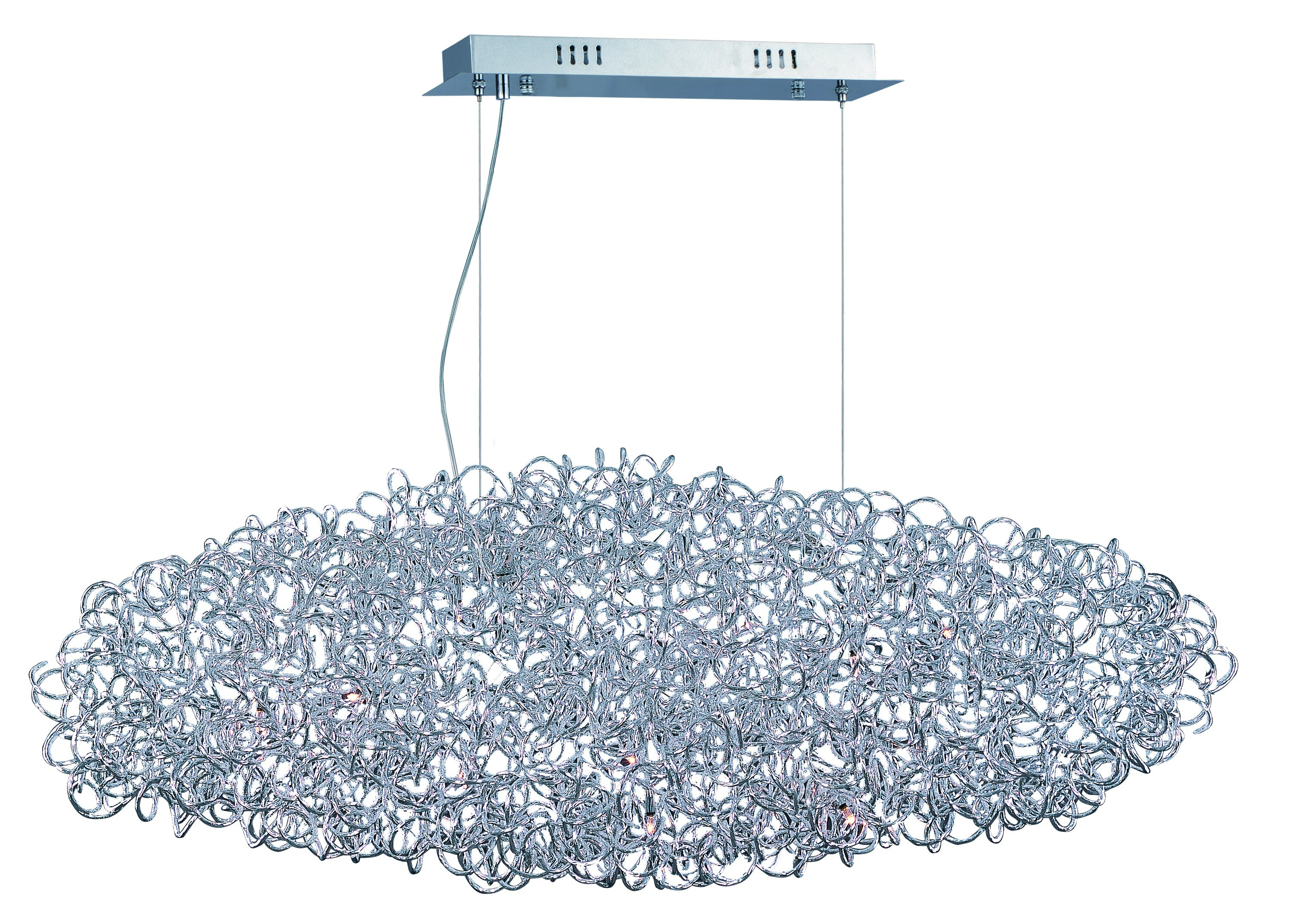 12 Light Pendant from the Dazed collection by ET2 E22578 PC