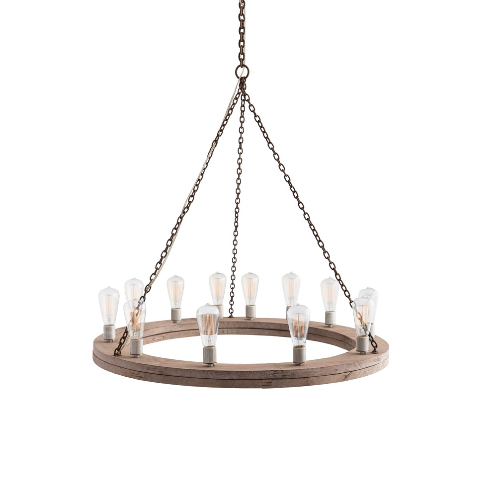 12 Light Chandelier from the Geoffrey collection by Arteriors 84171