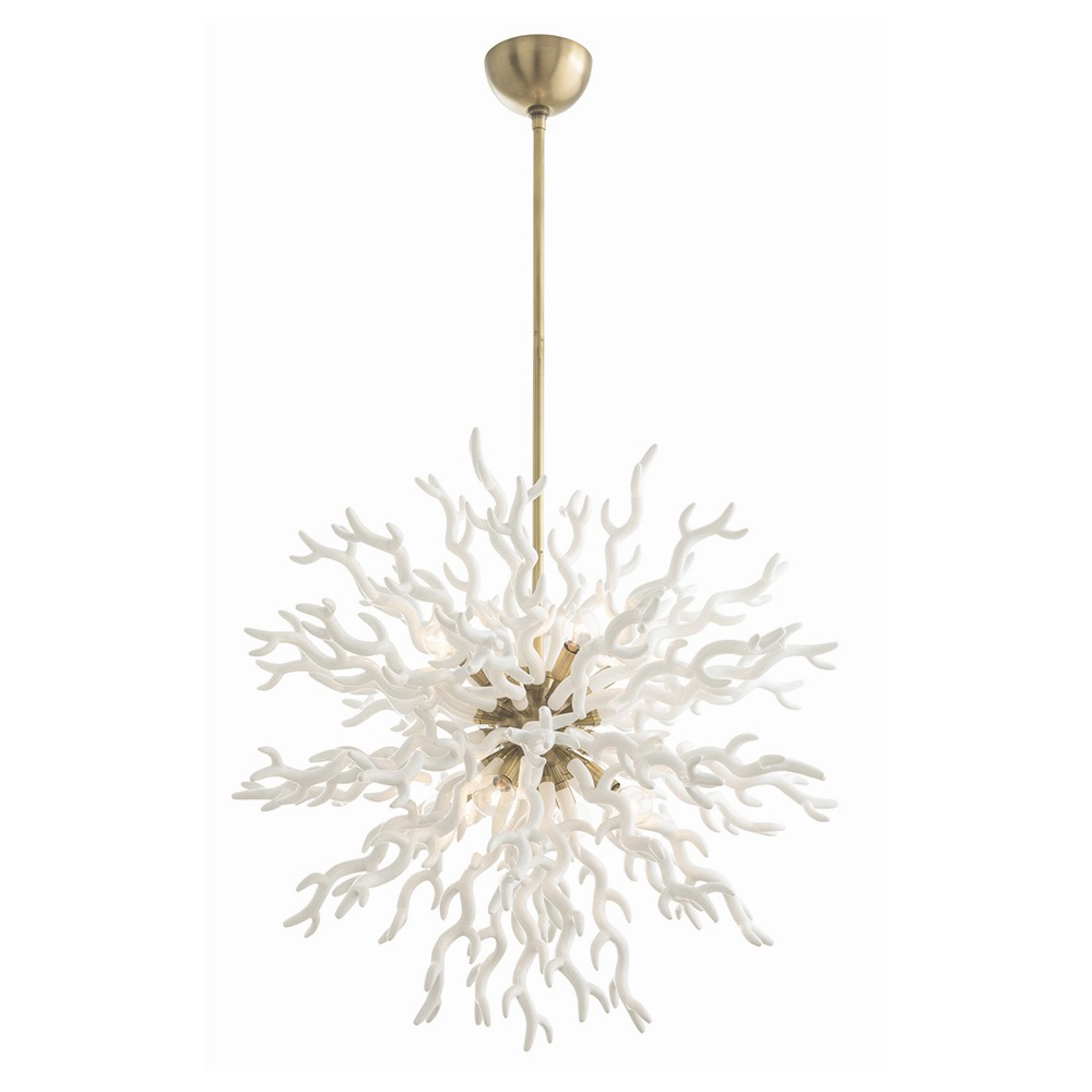 Eight Light Chandelier from the Diallo collection by Arteriors 89992