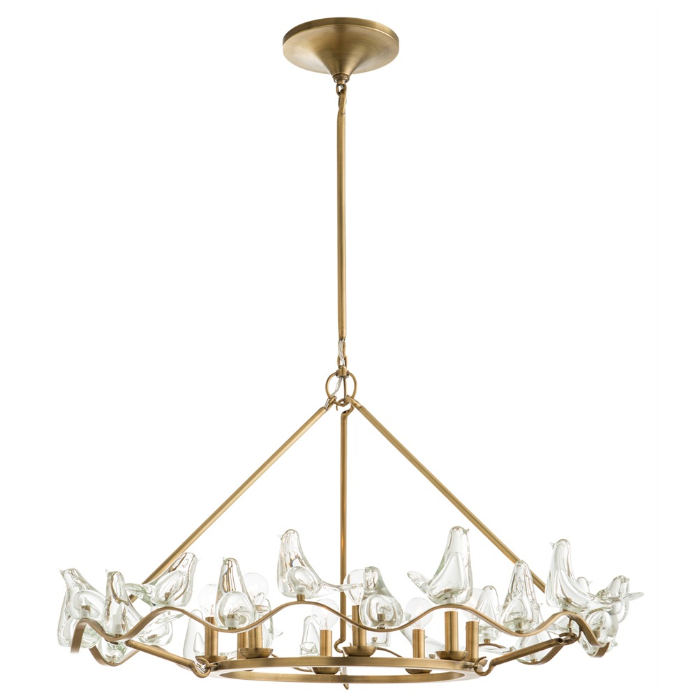 Eight Light Chandelier from the Dove collection by Arteriors DK89951