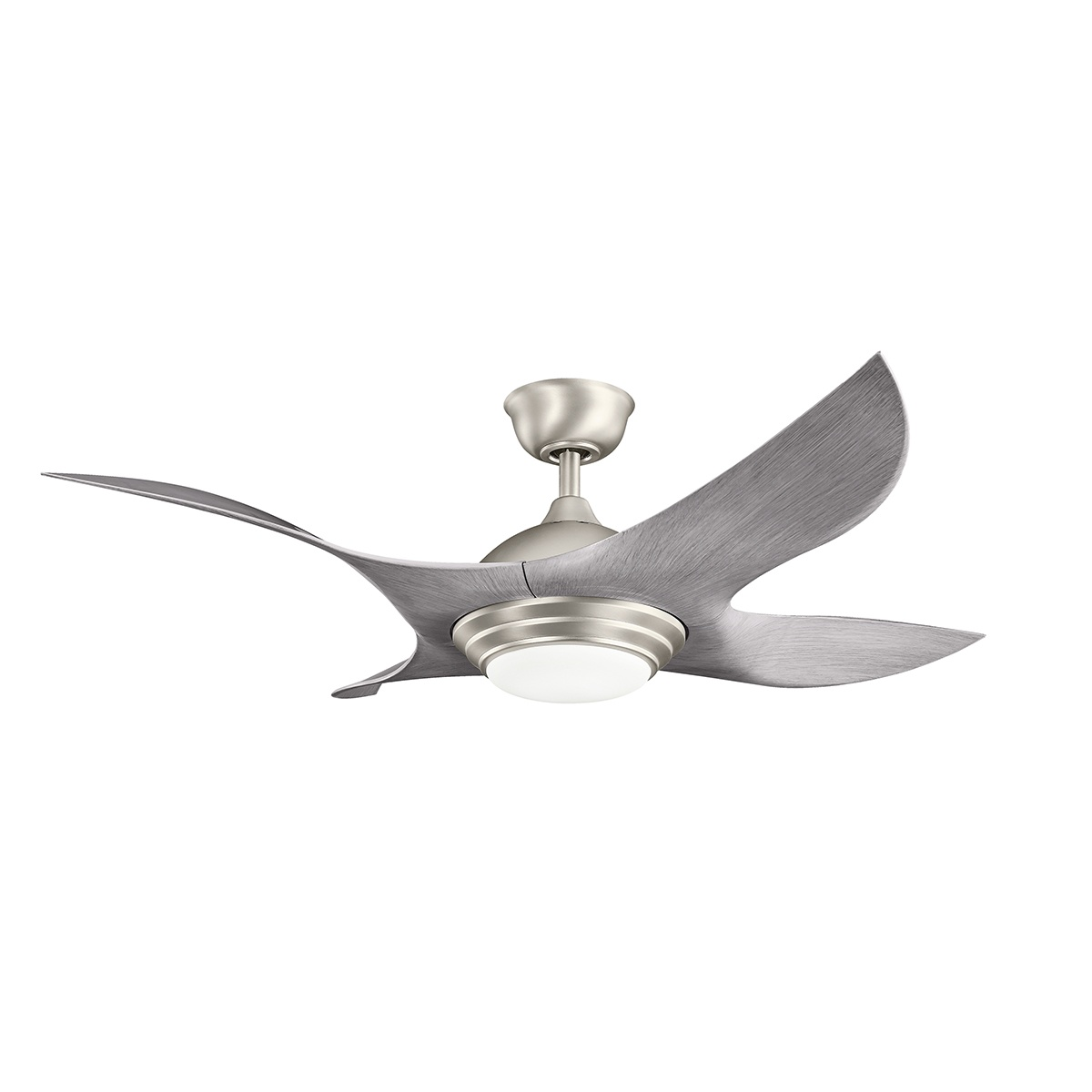 52 inchCeiling Fan from the Shuriken collection by Kichler 300209NI