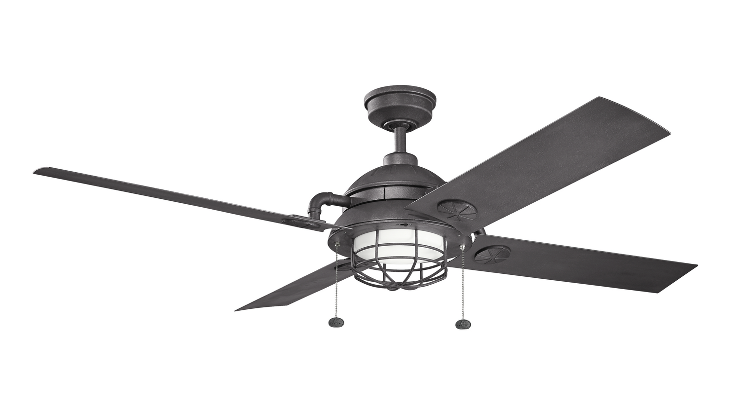 65 inchCeiling Fan from the Maor collection by Kichler 310136DBK