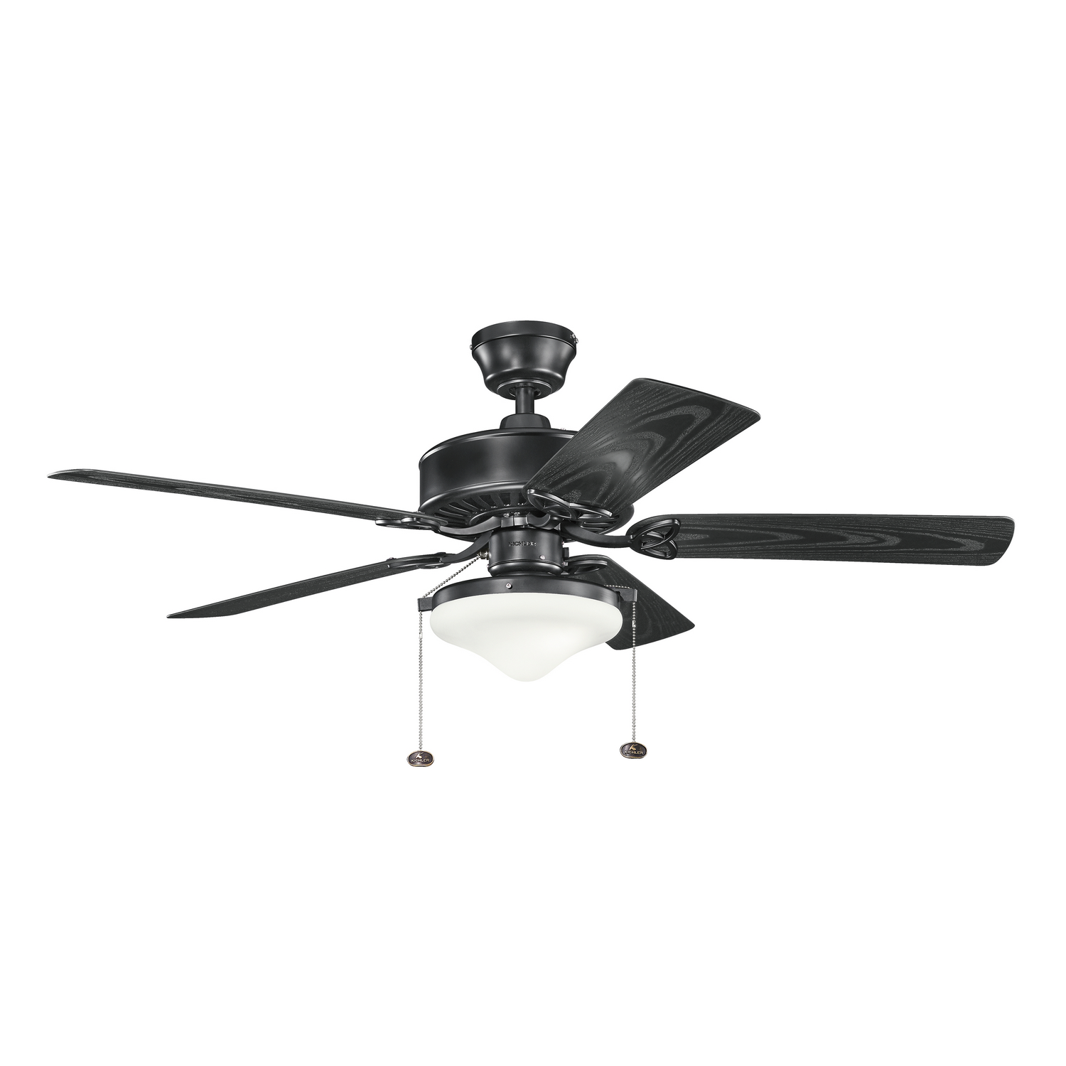 52 inchCeiling Fan from the Patio collection by Kichler 339516SBK