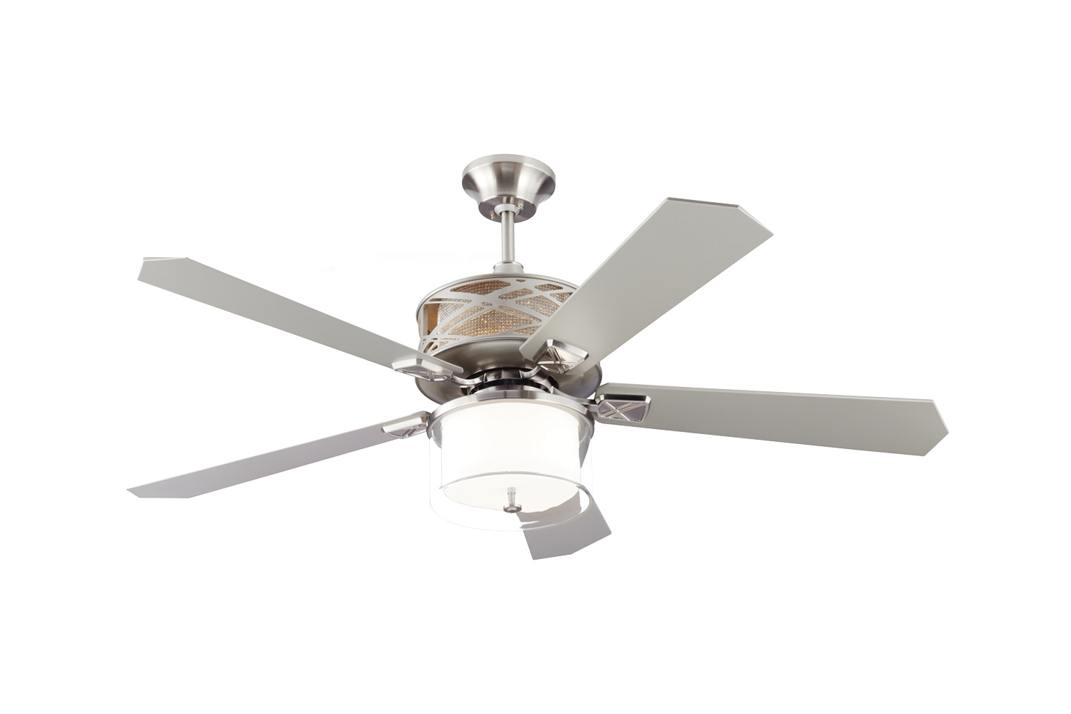 54 inchCeiling Fan from the Piper collection by Monte Carlo 5PPR54BS