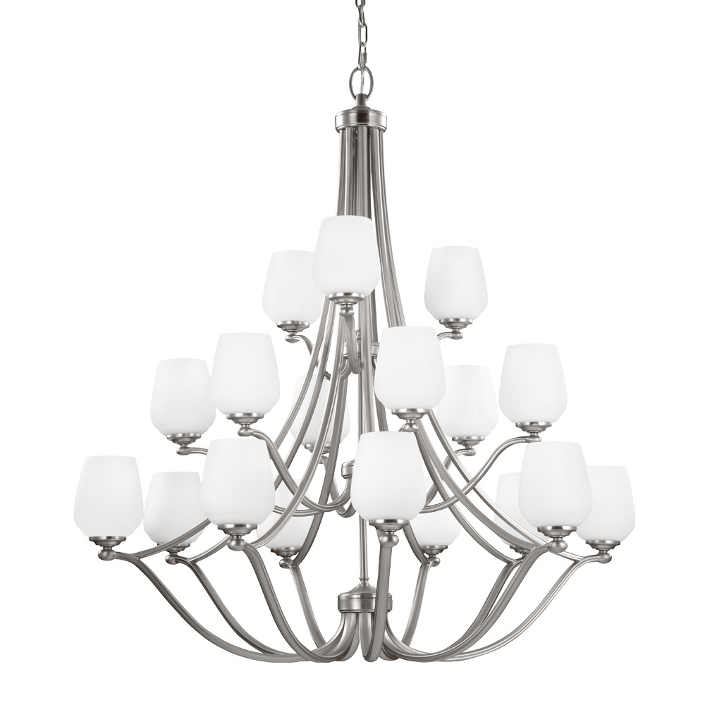 18 Light Chandelier from the Vintner collection by Seagull F2962963SN