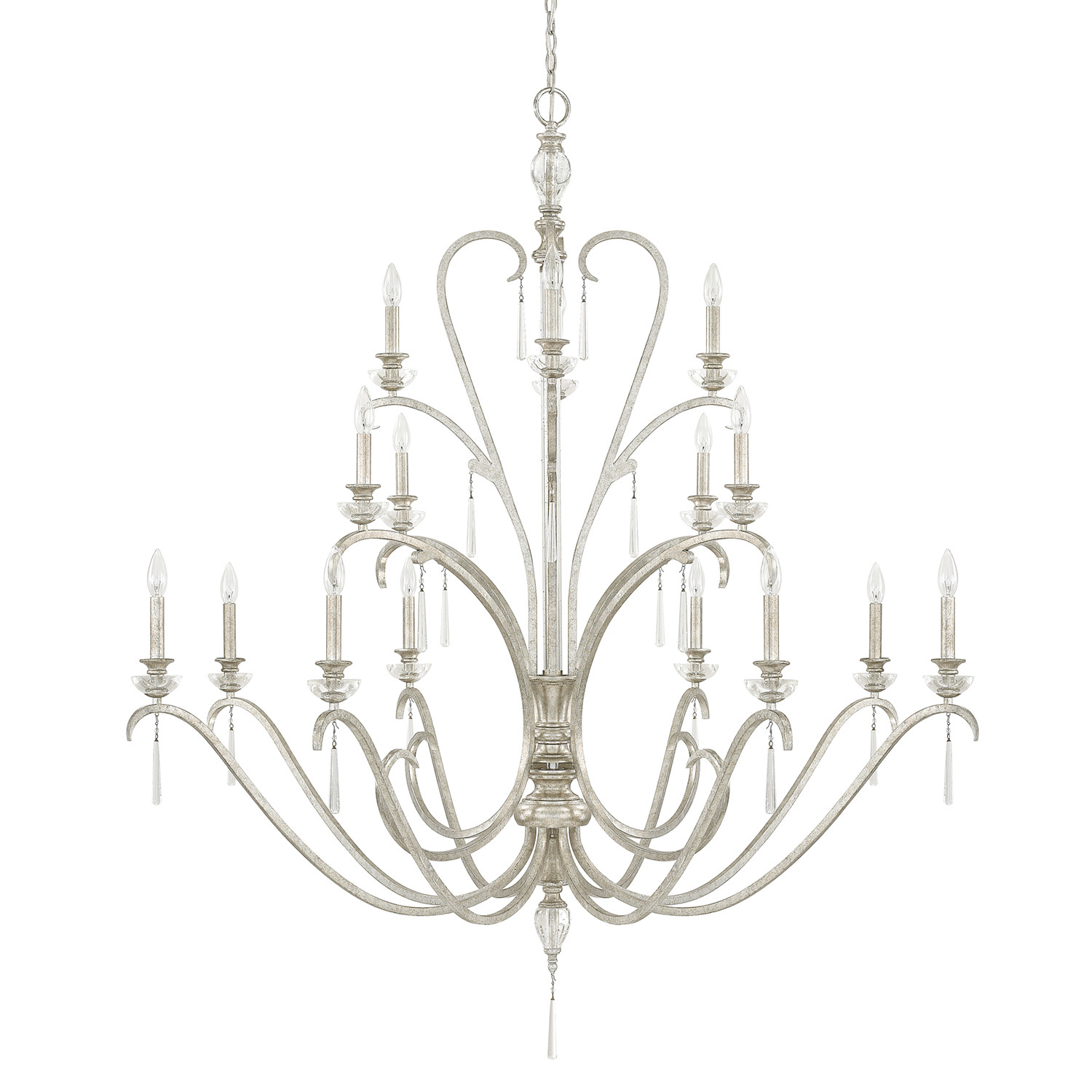 16 Light Chandelier from the Celine collection by Capital Lighting 4780AS 000