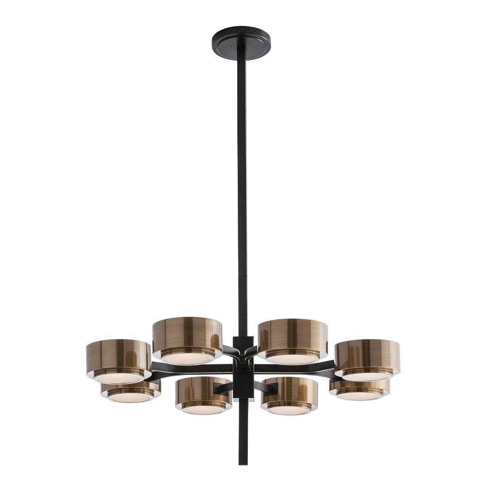 Eight Light Chandelier from the Jalen collection by Arteriors 89974