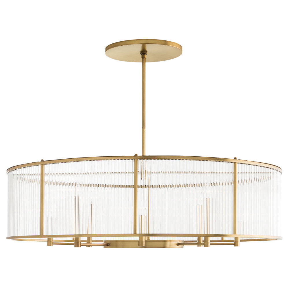 Eight Light Chandelier from the Hera collection by Arteriors DS89000