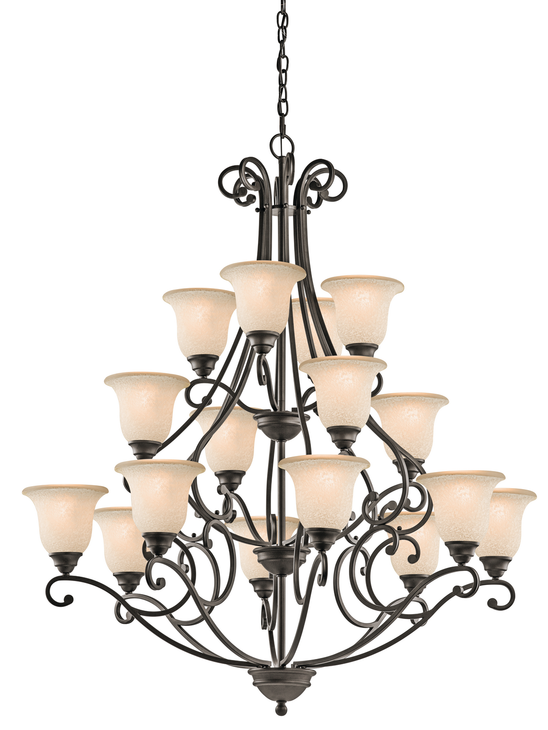 16 Light Chandelier from the Camerena collection by Kichler 43234OZ