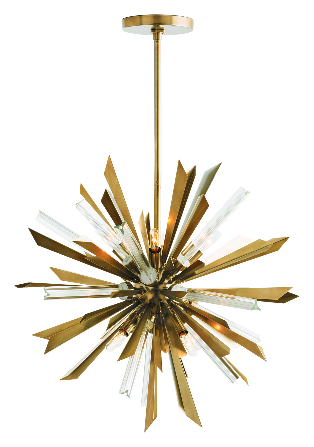 Eight Light Chandelier from the Waldorf collection by Arteriors 89027