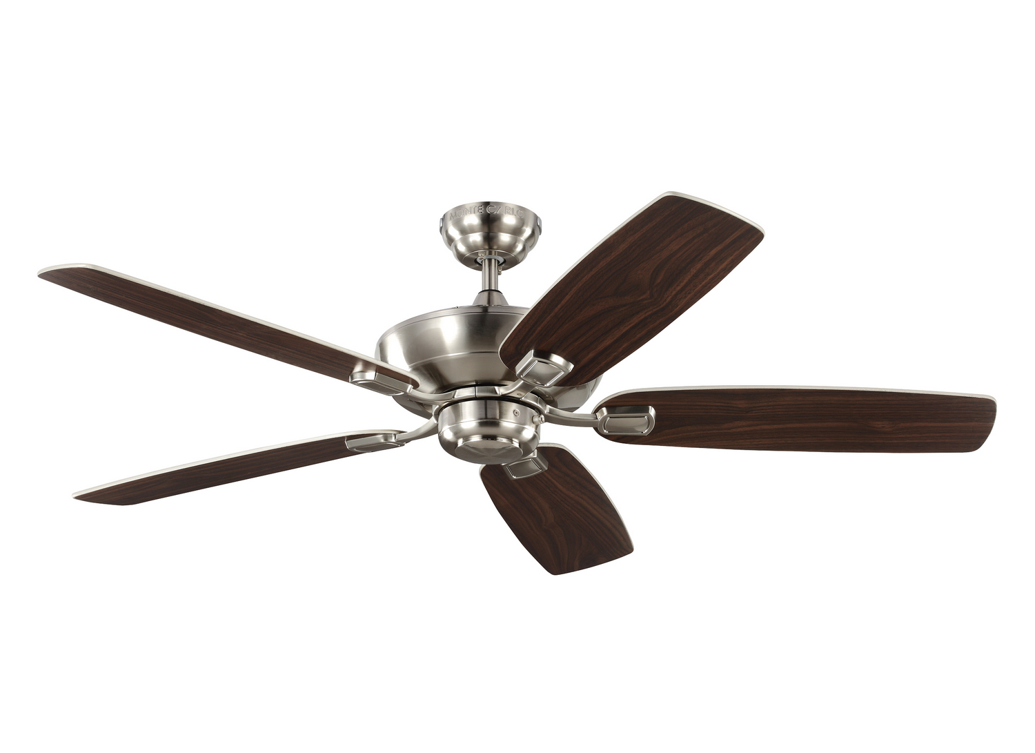 52 inchCeiling Fan from the Colony Max collection by Monte Carlo 5COM52BS