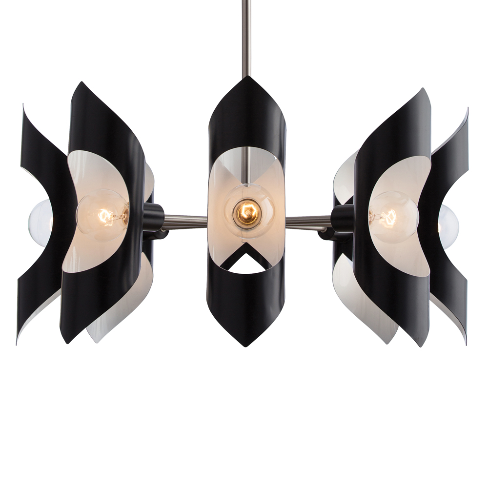 Eight Light Chandelier from the Vickery collection by Arteriors 89008