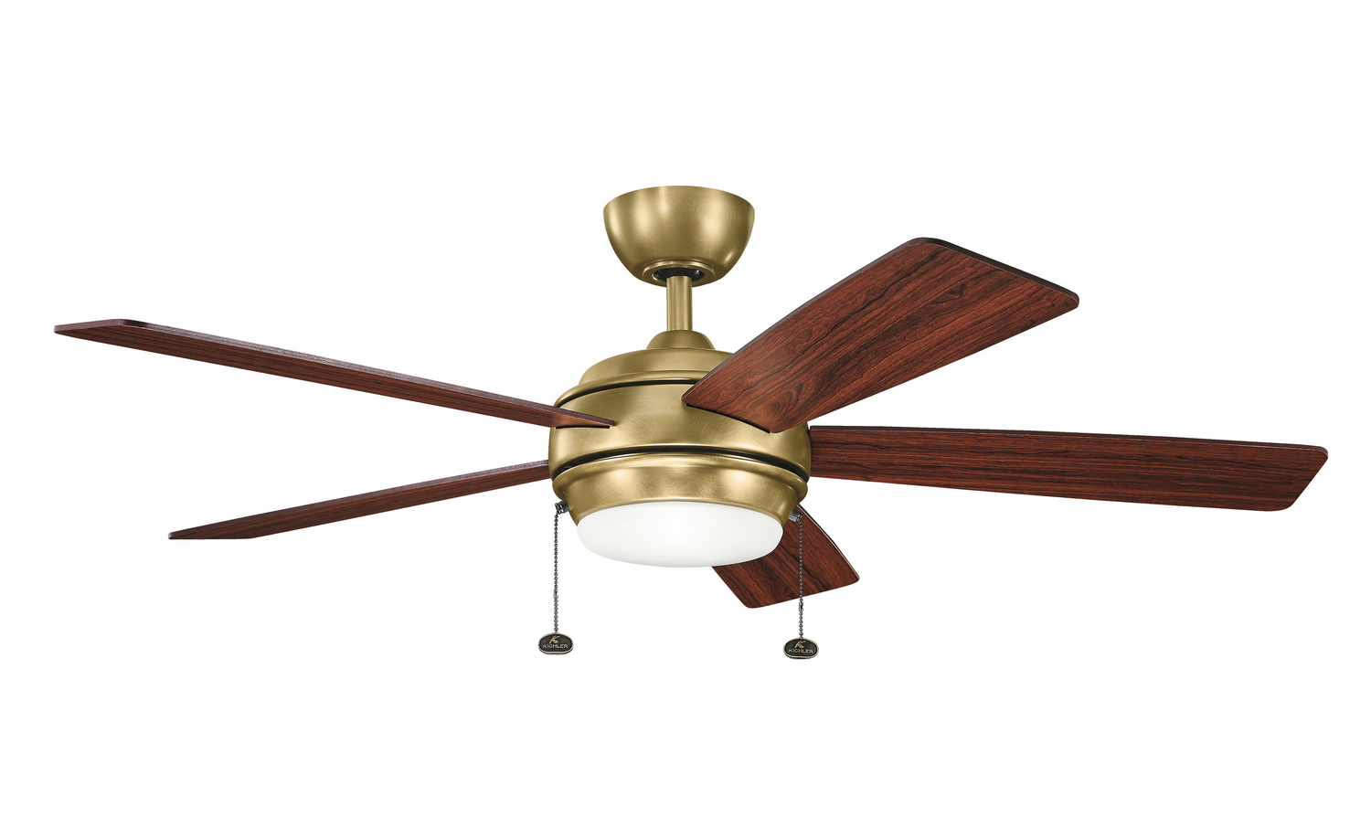 52 inchCeiling Fan from the Starkk collection by Kichler 300173NBR