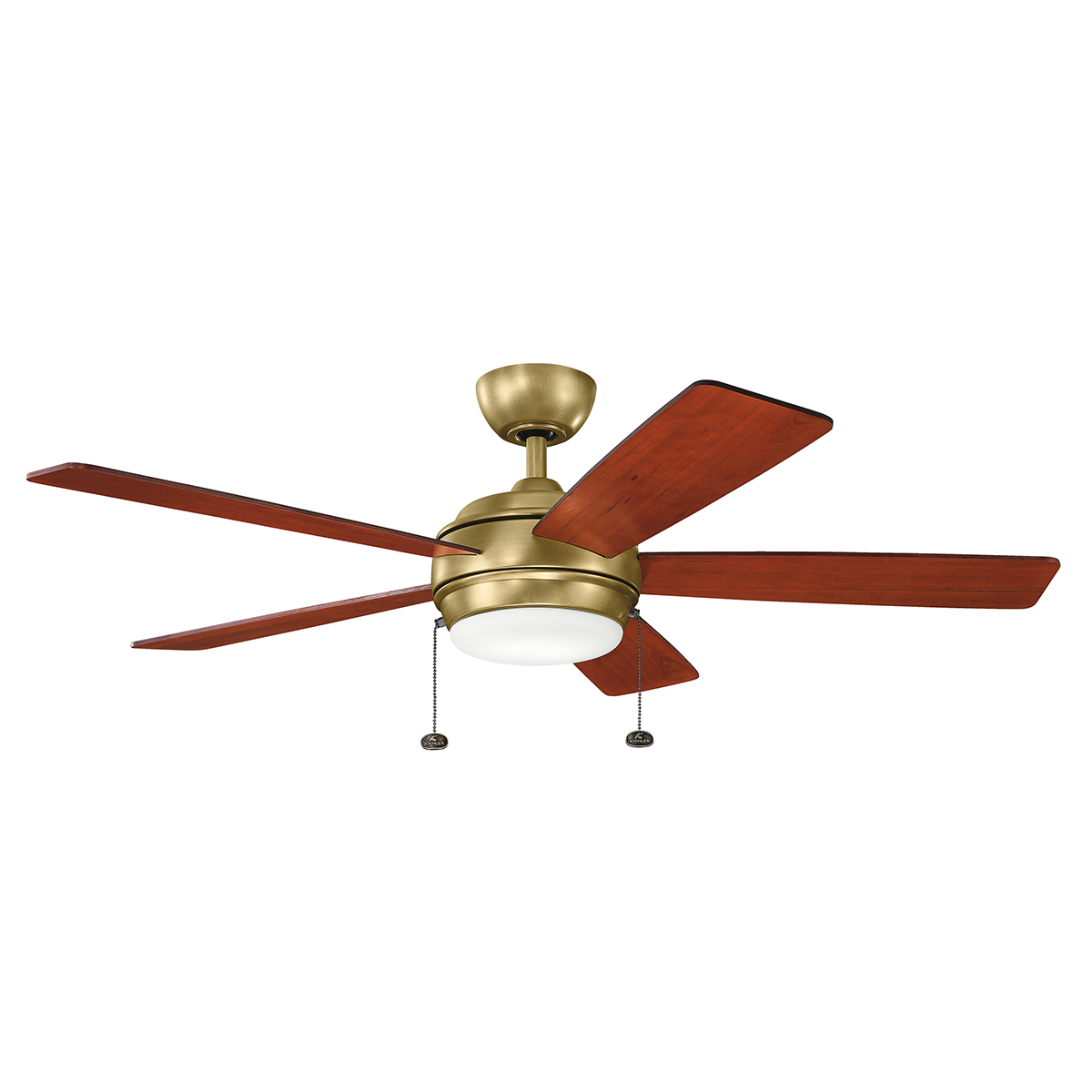 52 inchCeiling Fan from the Starkk collection by Kichler 330174NBR
