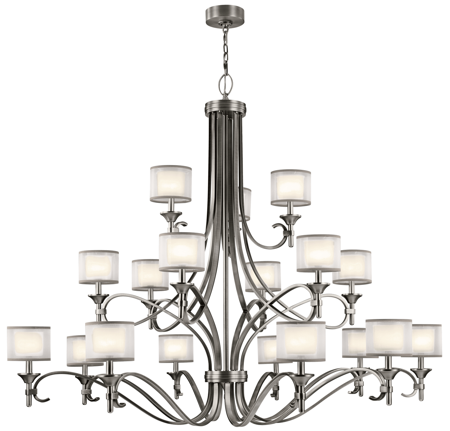 18 Light Chandelier from the Lacey collection by Kichler 42396AP