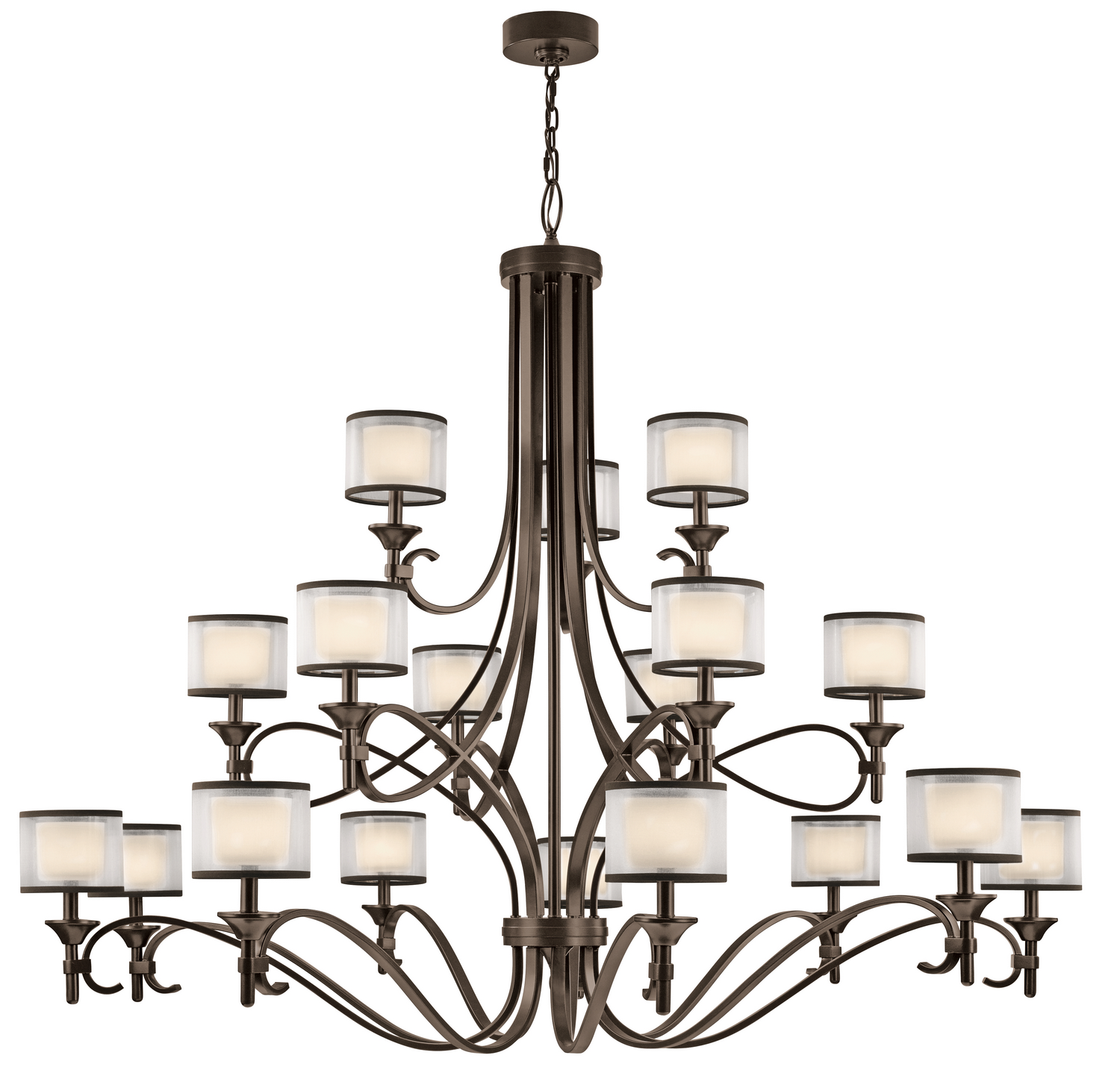 18 Light Chandelier from the Lacey collection by Kichler 42396MIZ