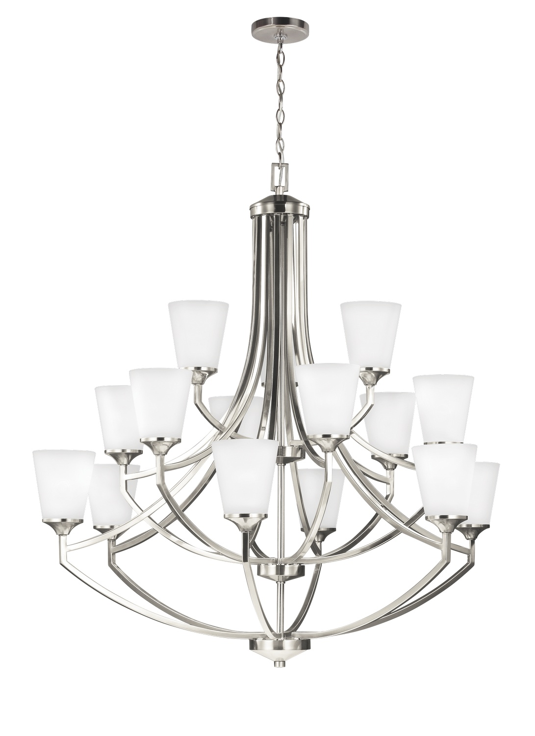 15 Light Chandelier from the Hanford collection by Seagull 3124515 962