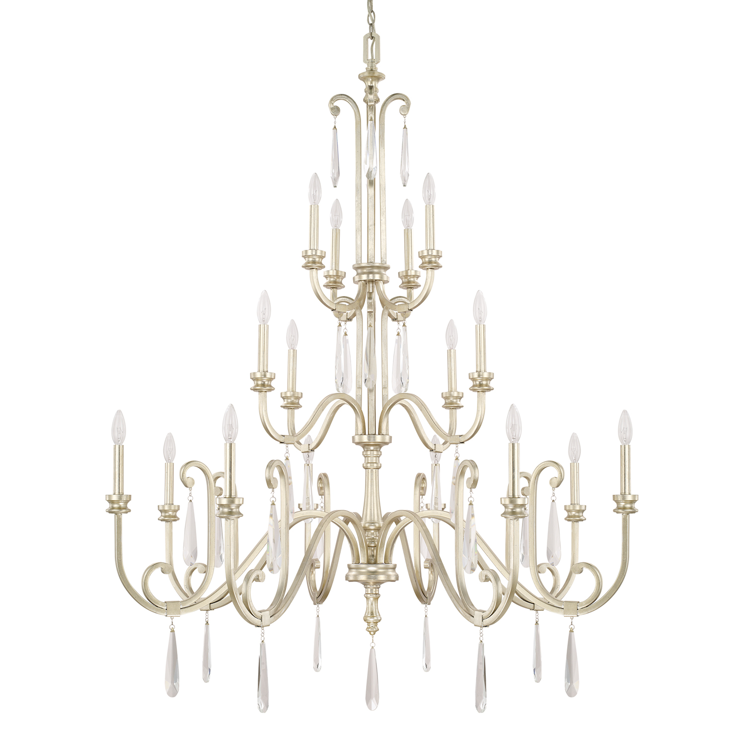 16 Light Chandelier from the Cambridge collection by Capital Lighting 413602WG