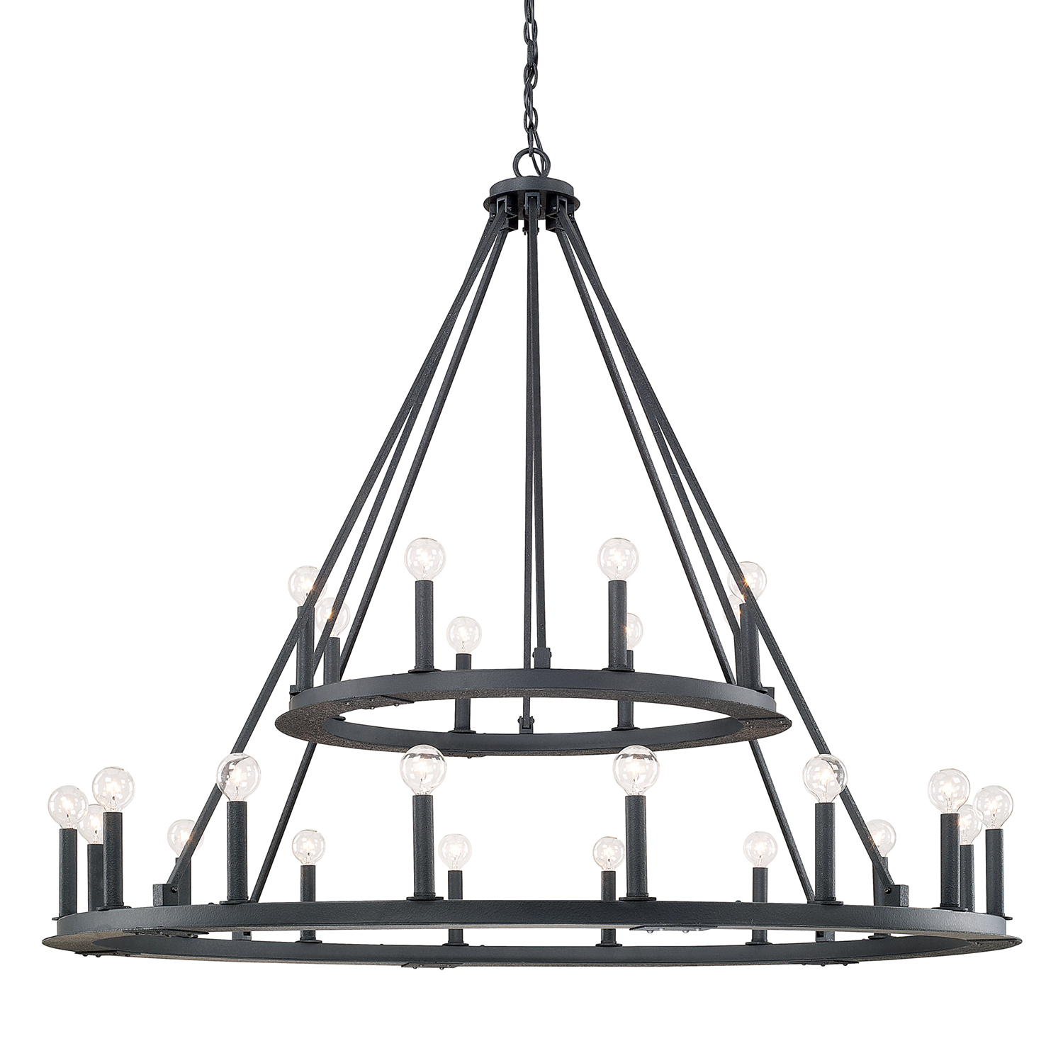 24 Light Chandelier from the Pearson collection by Capital Lighting 4910BI