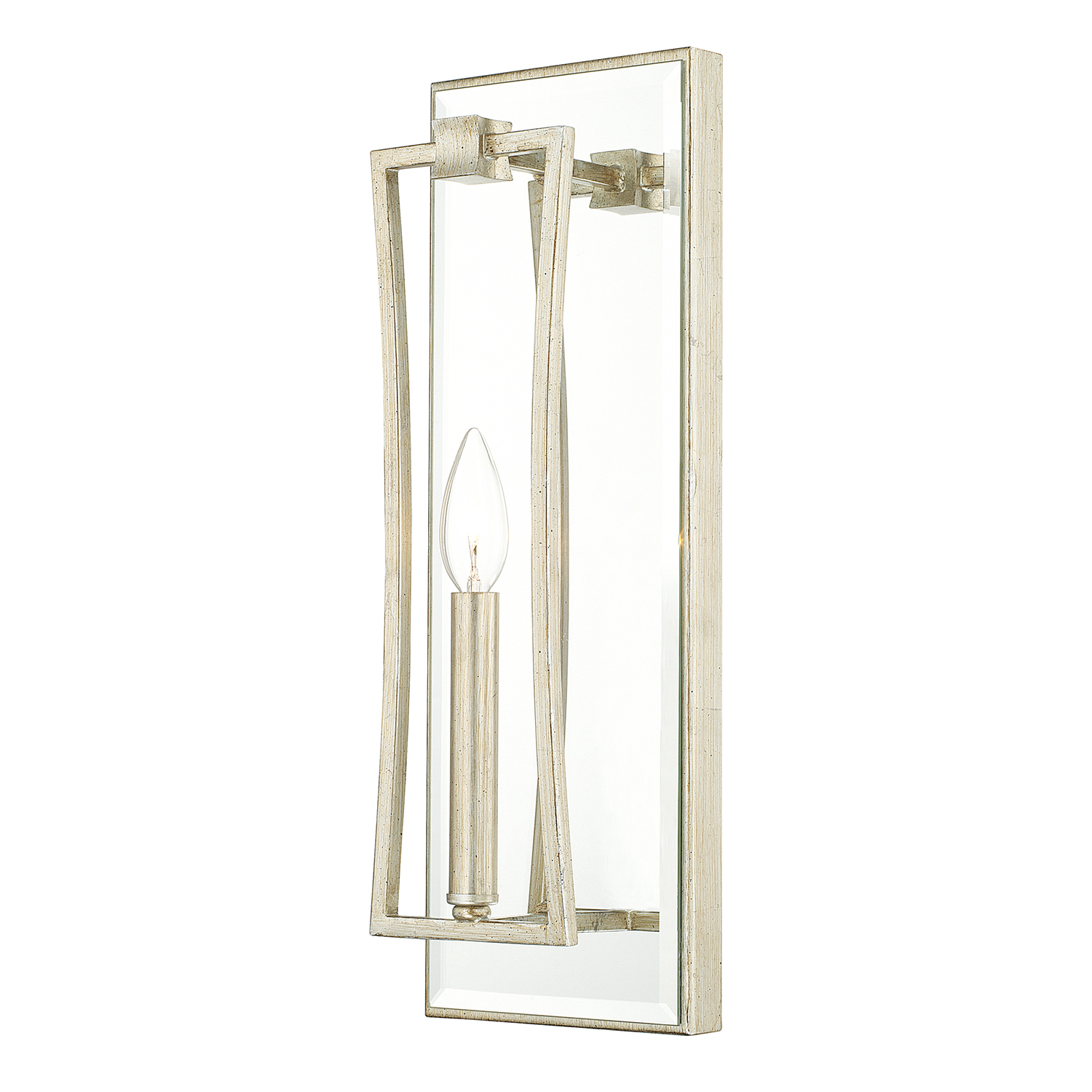 One Light Wall Sconce From The Westbrook Collection By Capital Lighting 610111wg