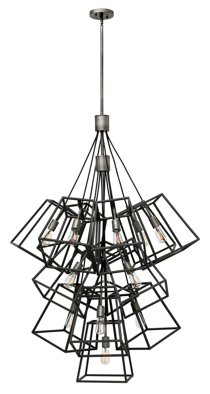13 Light Foyer Pendant from the Fulton collection by Hinkley 3358DZ