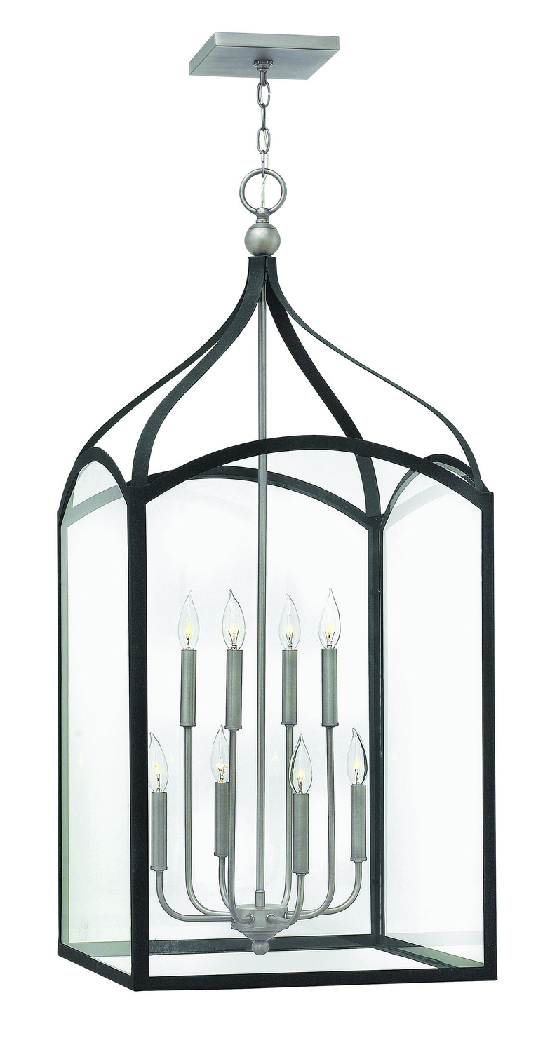 Eight Light Foyer Pendant from the Clarendon collection by Hinkley 3418DZ