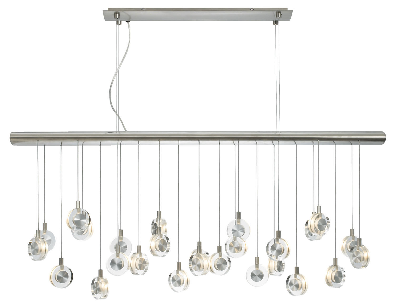 26 Light Chandelier from the Bling collection by LBL Lighting HS524CRSC76
