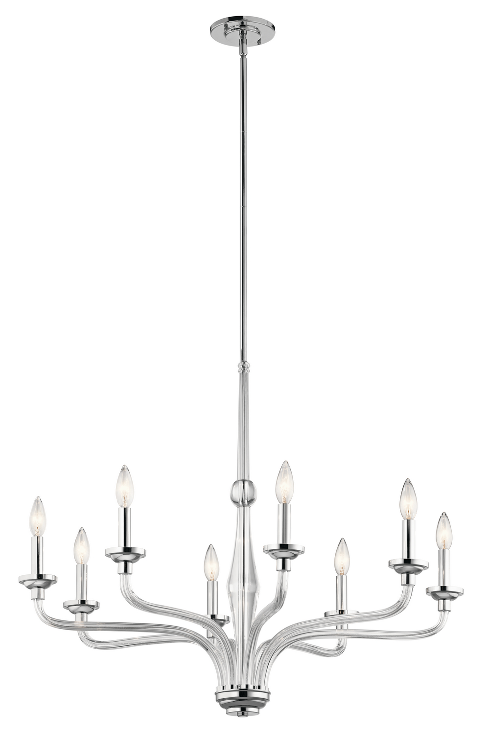 Eight Light Chandelier from the Loula collection by Kichler 43809CH