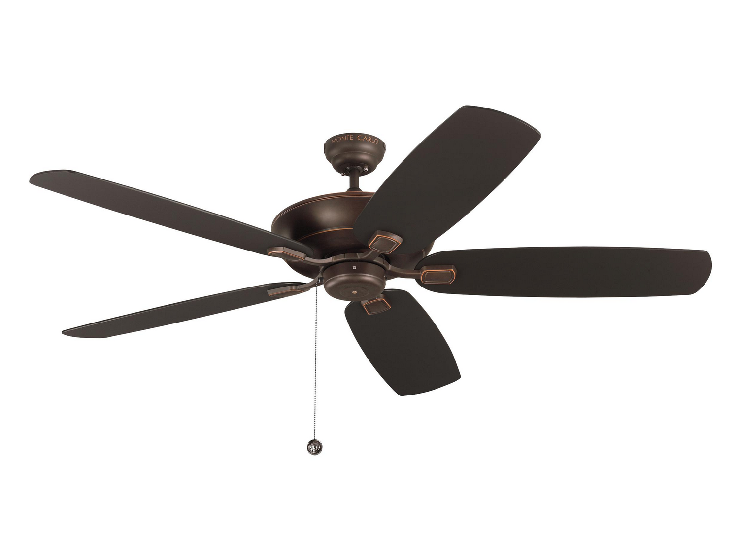 60 inchCeiling Fan from the Colony Super Max collection by Monte Carlo 5CSM60RB