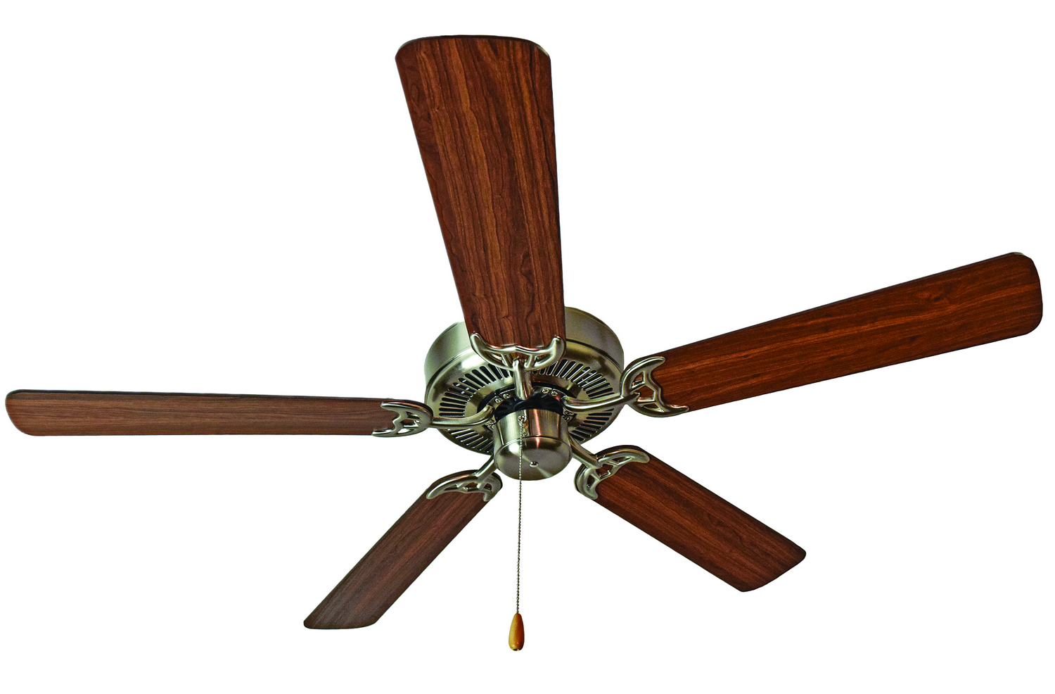 52 inchCeiling Fan from the Basic Max collection by Maxim 89905SNWP